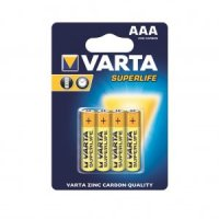 VARTA zinc carbon batteries R3 (AAA) 4tk superlife
