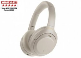 Sony WH-1000XM4 Noise Cancelling Wireless Headphones, Silver